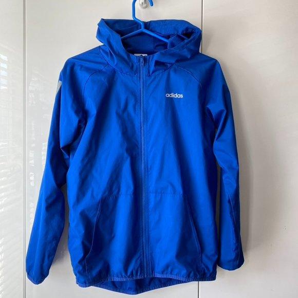 Adidas Boys Windbreaker Full-Zip Jacket L 14/16